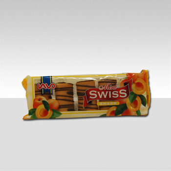 MINI SWISS ROLL abrikoos