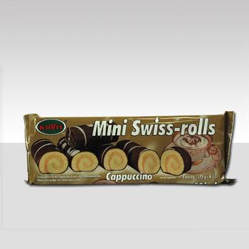 MINI SWISS ROLL CHOCO cappucino