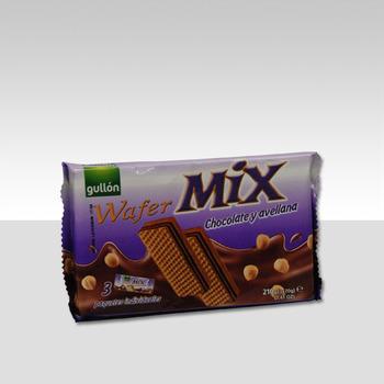 WAFER MIX chocolade 3x70g