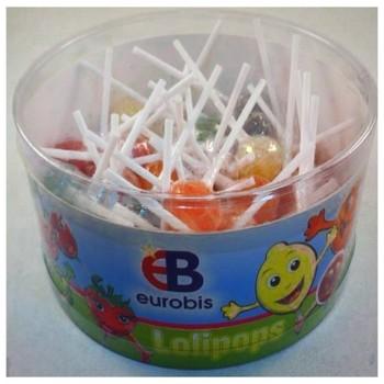 Lollipops Fruit bol 400g