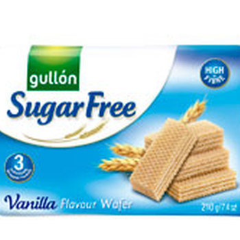 Sugar Free Wafers Vanille 3x70g