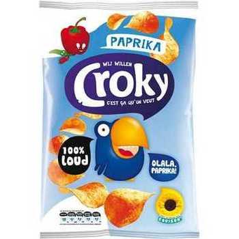 Croky Chips Paprika 100g