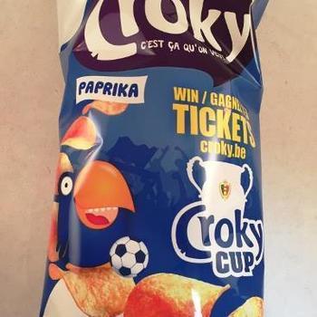 Croky Chips Paprika 200g